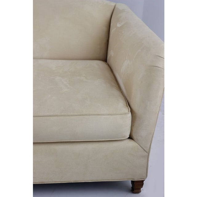 Contemporary Contemporary Single Cushion Ivory Sofa For Sale - Image 3 of 4