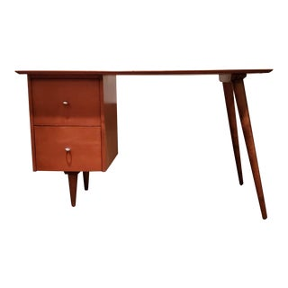 Paul McCobb Planner Group Maple Desk For Sale