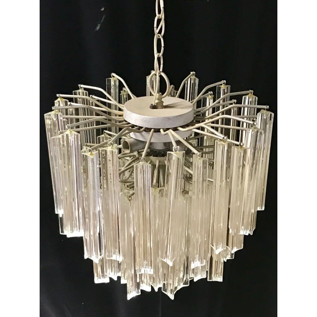 Venini Crystal Chandeliers - A Pair - Image 7 of 11