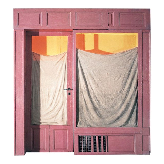 "Javacheff Christo ""Wrapped Store Front"" 2011 Offset Lithograph Signed For Sale"