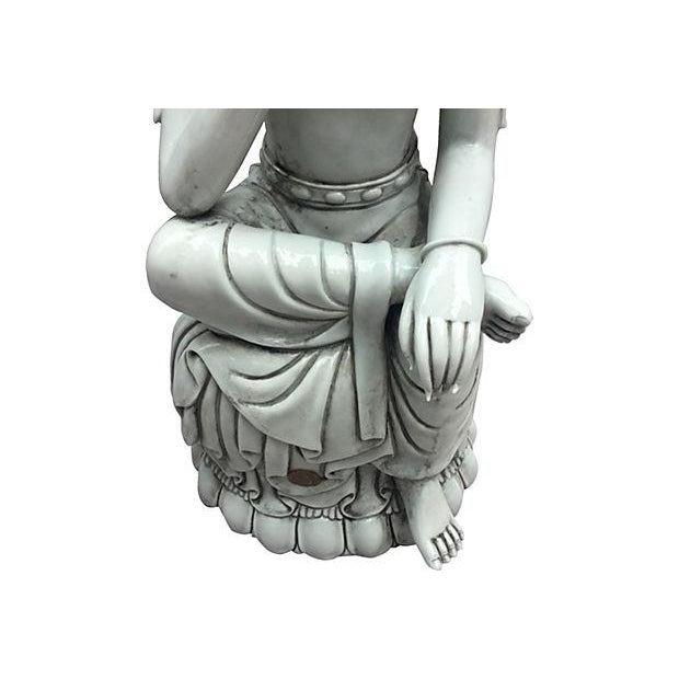 Blanc De Chine Seated Buddha - Image 2 of 6