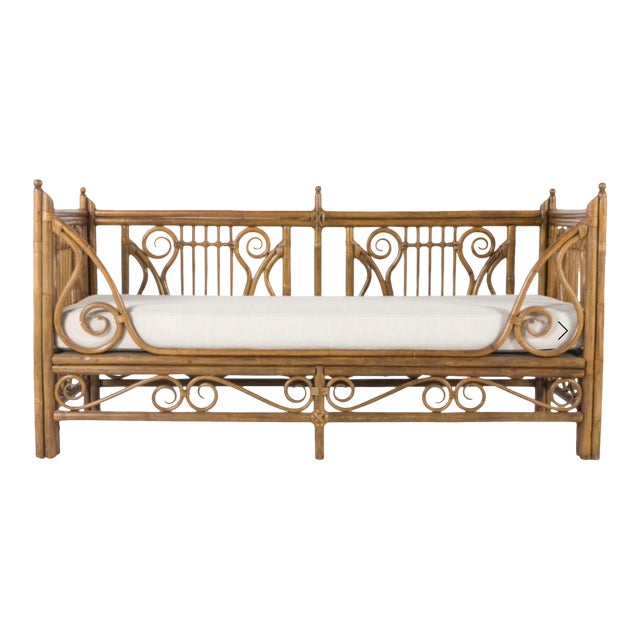 1980s Vintage Rattan/Bamboo Daybed by Ralph Lauren For Sale