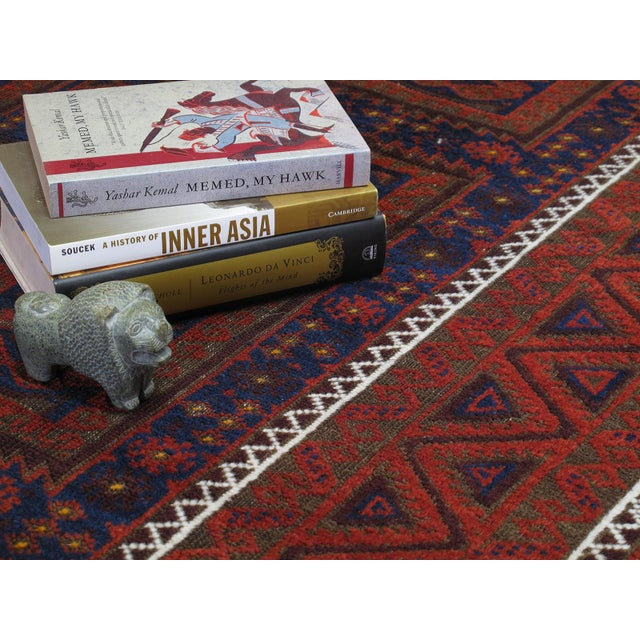 Antique Baluch Long Rug For Sale In New York - Image 6 of 9