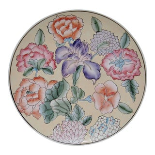 Decorative Floral Charger For Sale