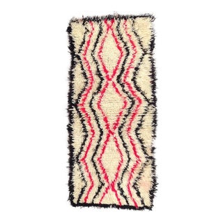 1980s Azilal Rug- 2′5″ × 5′6″ For Sale