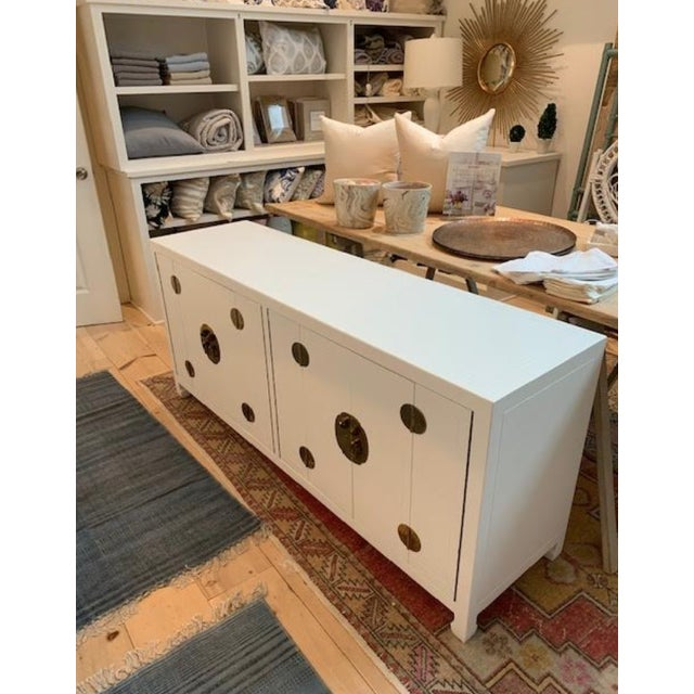 Mid-Century Modern 1960s Henredon Ming Console For Sale - Image 13 of 13