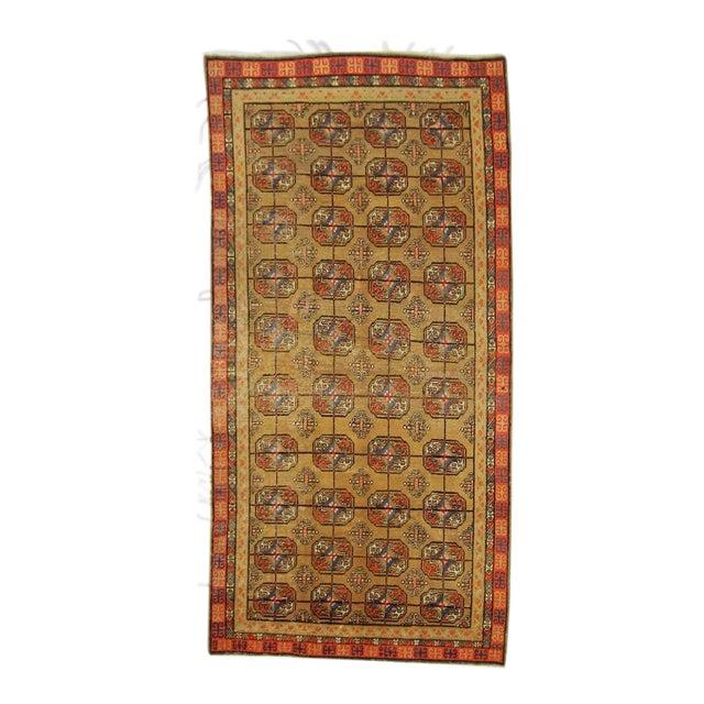 Vintage Turkistan Samarkand Rug - 5′ × 10′ For Sale