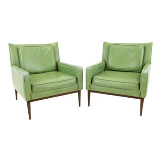 Mid Century Modern Paul McCobb for Directional Lounge Chairs- A Pair For Sale