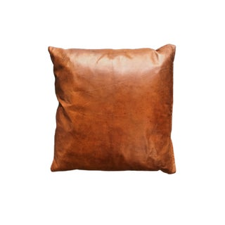 Ralph Lauren Leather Pillow For Sale