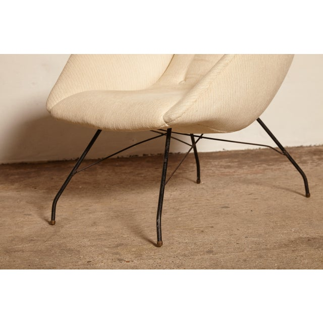 1950s Vintage Forma Brazil Carlo Hauner and Martin Eisler Shell 'Concha' Lounge Chairs - a Pair For Sale - Image 11 of 13