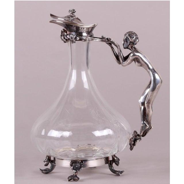 Art Nouveau-Style Ewer For Sale - Image 13 of 13