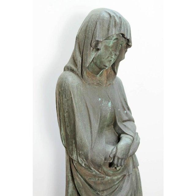 Bronze Female Statue For Sale - Image 11 of 13