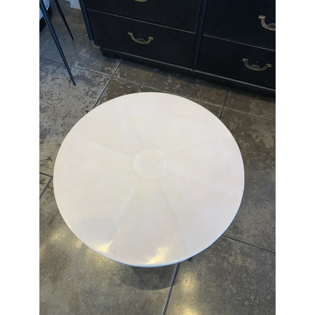 Less is more! Perfect Contemporary Vellum Side Table. So many options with so little effort. This small and classy vellum...