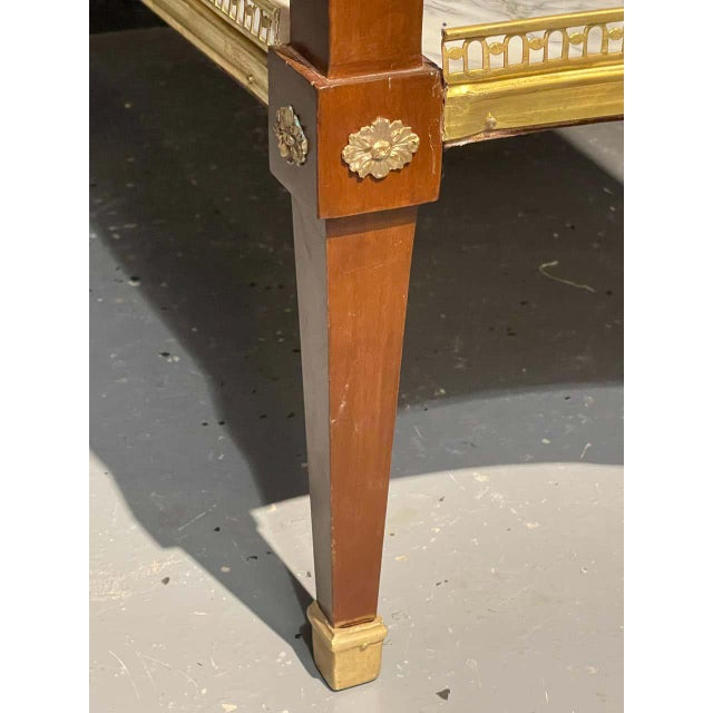Russian Neoclassical Console Tables, Sofa Tables or Bedside Stands - a Pair For Sale - Image 4 of 12
