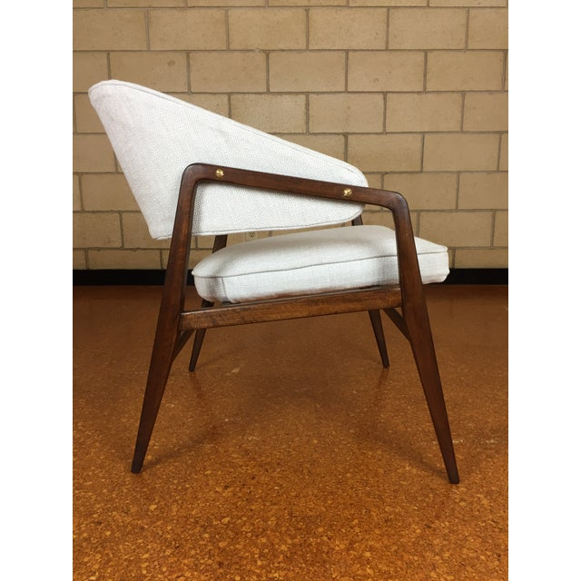Mid-Century Modern Gio Ponti for Singer & Son Lounge Chair For Sale - Image 5 of 11