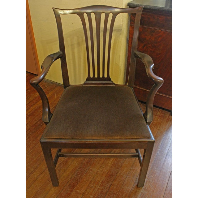 Wood Dining Chippendale Style Chairs - Set of 8 For Sale - Image 7 of 10