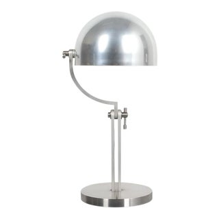 Articulate Aluminum Desk Lamp by Schliephacke for Mewa, Circa 1955 For Sale