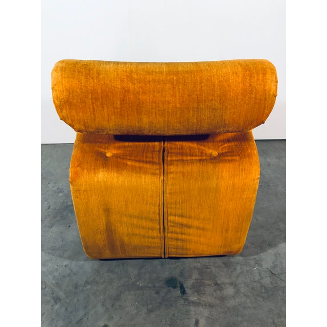 """1970s Jan Ekselius for j.o. Carlsson """"Etcetera"""" Lounge Chair, Vintage 1970s For Sale - Image 5 of 11"""