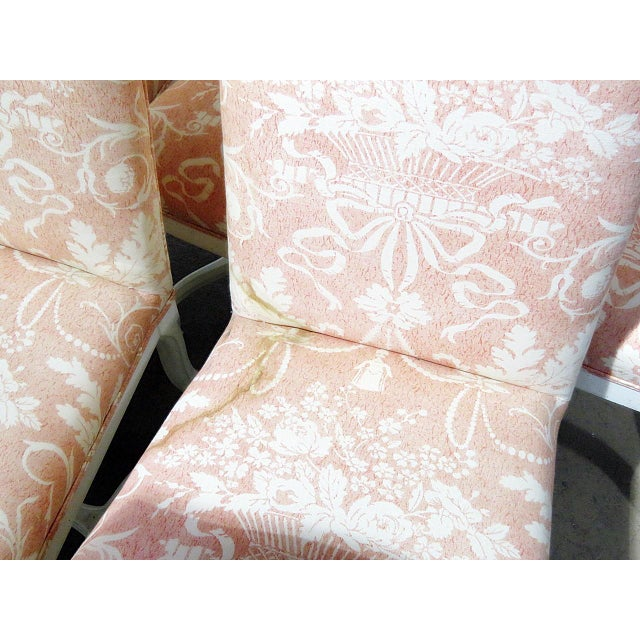 French Louis XV Style Dining / Side Chairs - Set of 10 For Sale - Image 3 of 9