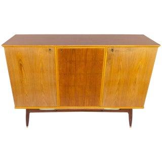 Ash and Teak Swedish Modern Sideboard For Sale