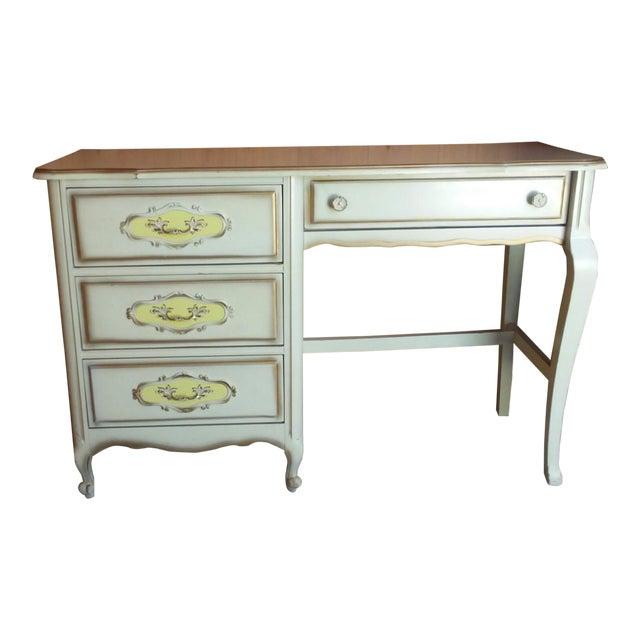 20th Century French Provincial Henry Link Style Writing Desk For Sale