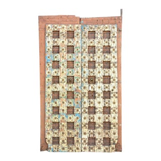 Antique Indian Temple Doors For Sale