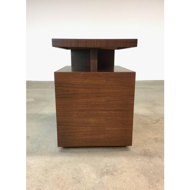 Andrew Szoeke Pair of Andrew Szoeke End Tables in Rosewood For Sale - Image 4 of 9