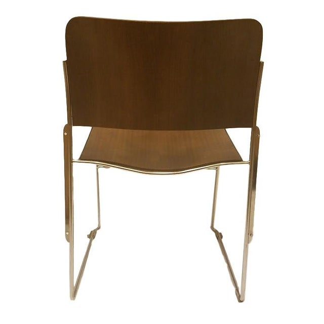 David Rowland 1977 Stacking Sled Chair - Image 3 of 4