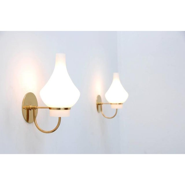 Modern Italian 1950s Sconces - Image 2 of 9