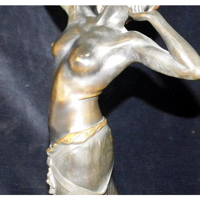 Art-Nouveau Bronze Sculpture Salome ~ Rudolf Marcuse Gladenbeck & Sohn Foundry For Sale - Image 9 of 11