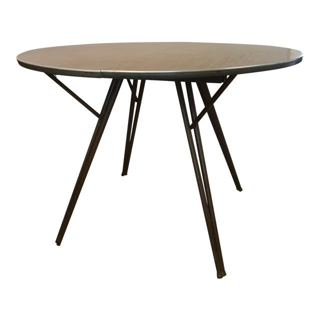 Atomic Retro Modern Formica Top Dining Table - Image 1 of 4
