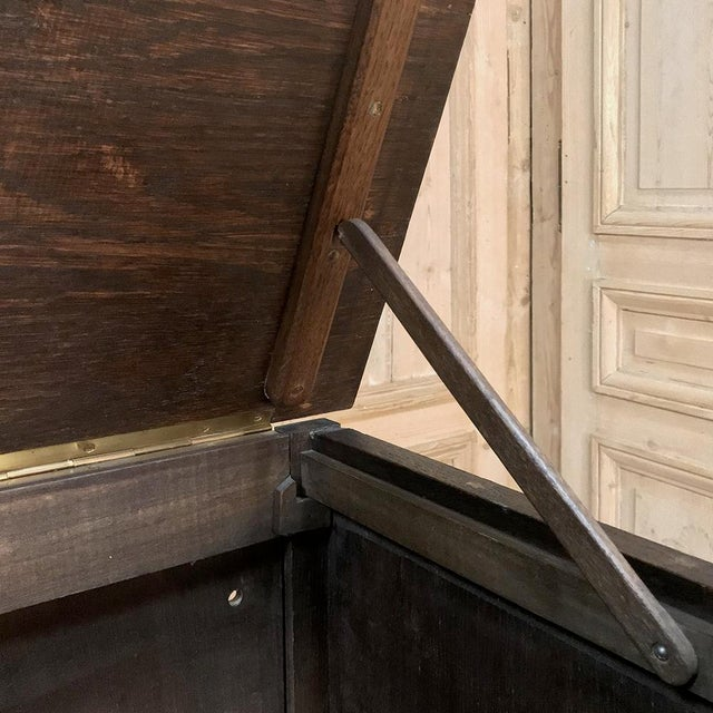 19th Century Country French Louis XVI Vitrine For Sale - Image 9 of 13