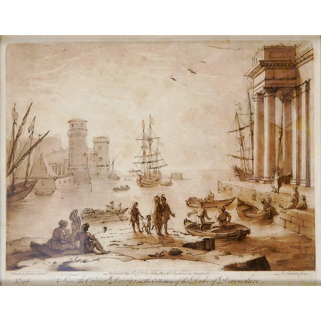 Traditional Richard Earlom 1775 Mezzotint Etchings - A Pair For Sale - Image 3 of 6