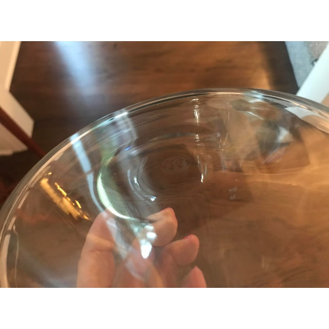 Glass Baccarat Mid Century Modern Crystal Decanter For Sale - Image 7 of 13