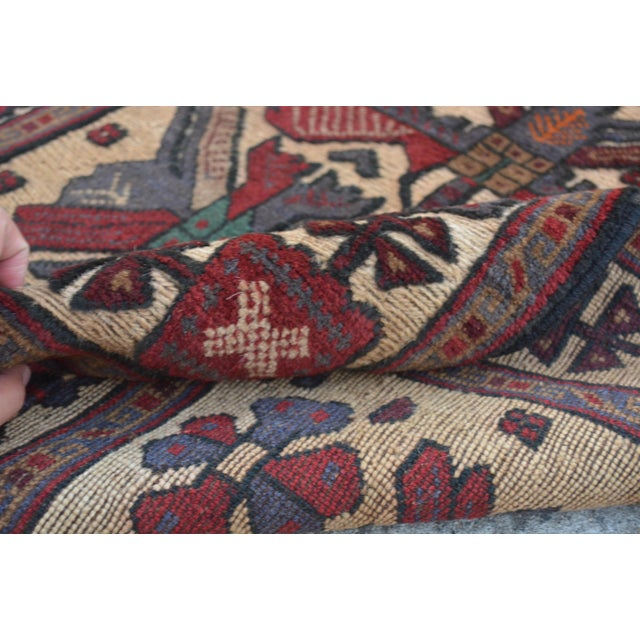 "Vintage Turkish Kilim Rug Runner - 2'7"" x 11'10"" For Sale In Orlando - Image 6 of 7"
