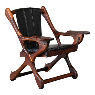 Rosewood Swinger Lounge Chair by Don Shoemaker For Sale