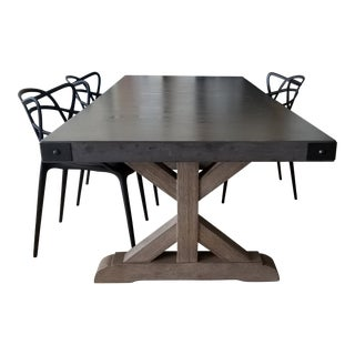 Contemporary Timothy Oulton for Restoration Hardware Dining Table For Sale