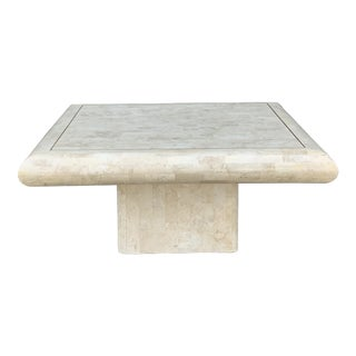 Tessellated Stone Tile Coffee Table For Sale