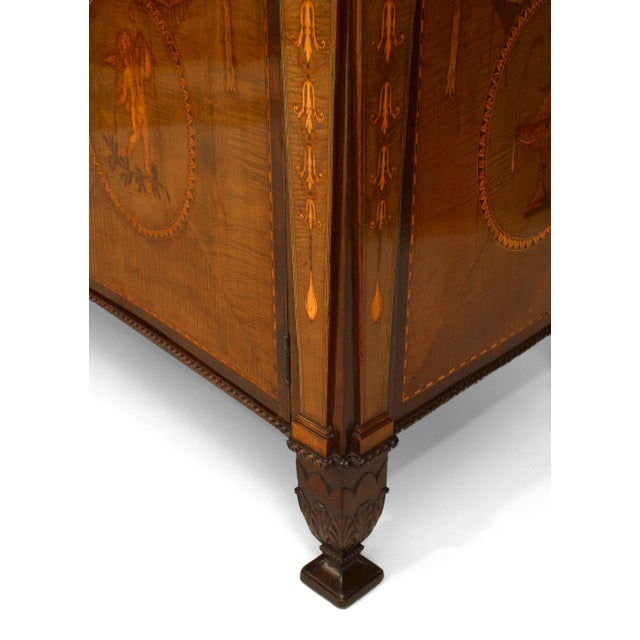 Wood Rare and Important 18th Century English Adam Commode For Sale - Image 7 of 8