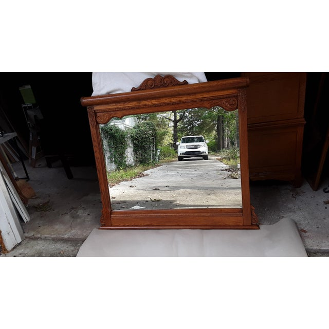 1990s Lexington Victorian Sampler Mirror Landscape For Sale - Image 5 of 8