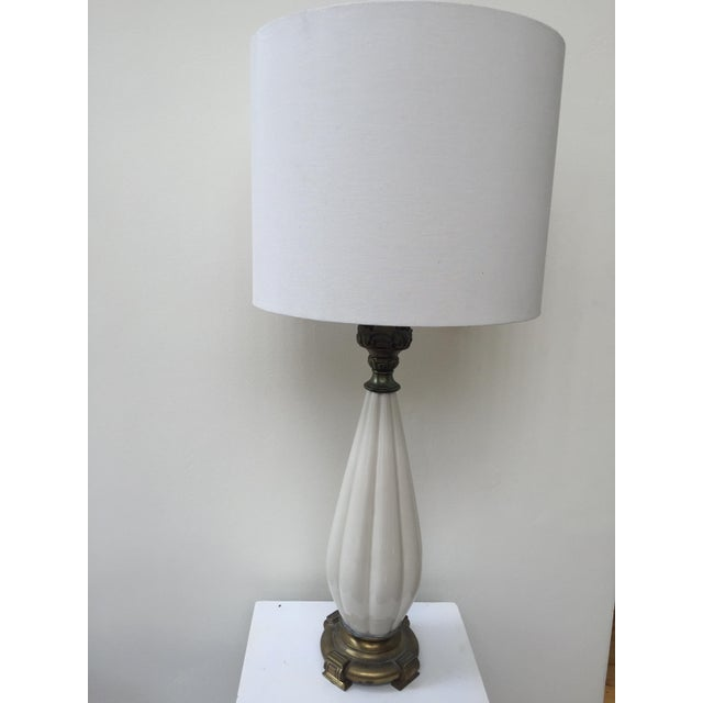 Vintage Hollywood Regency Style Lamp - Image 3 of 5