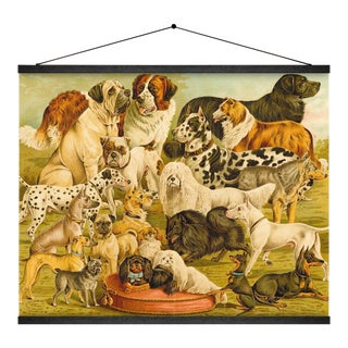 Dog Breeds Wall Hanging