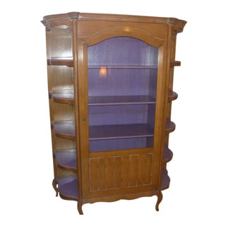 Grange Pompadour French, Display Cabinet Bookcase