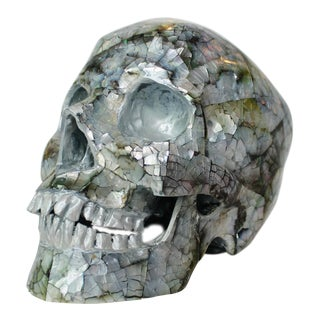 Mother of Pearl Skull