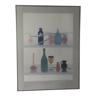 Elizabeth Osbourne Gold Goblet Signed Poster For Sale