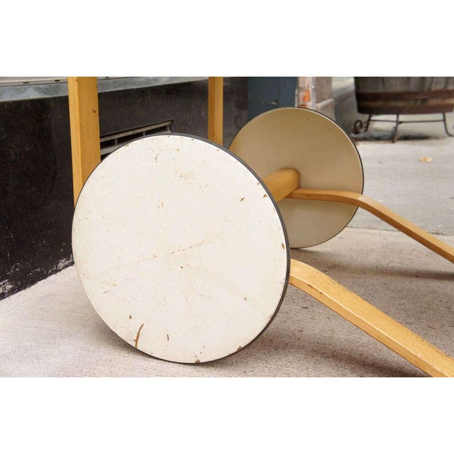 Alvar Aalto for Artek Bar Cart For Sale In New York - Image 6 of 7