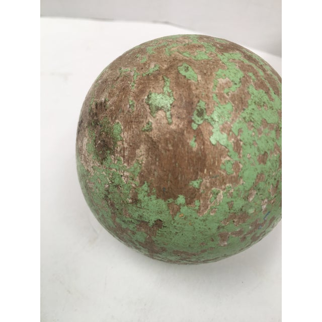 1950s Italian Painted Wooden Bocce Balls - Set of 7 For Sale In Dallas - Image 6 of 8