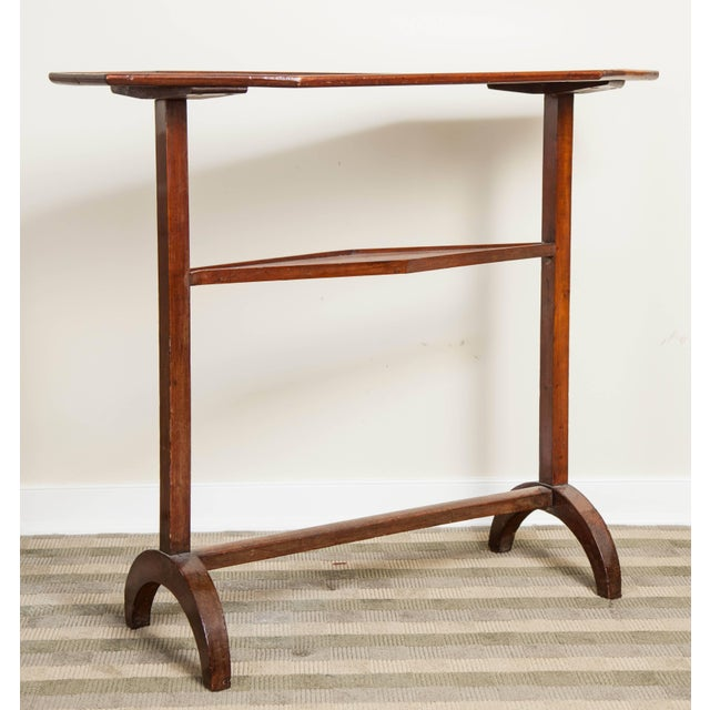 Early 19th Century 19th Century Neoclassical Directoire Mahogany Trestle Table For Sale - Image 5 of 10