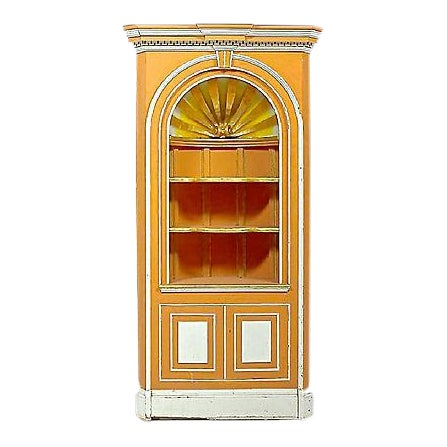George III-Style Vintage Corner Cabinet For Sale