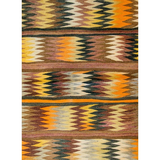 Persian Wonderful Early 20th Century Antique Baluchi Kilim Rug For Sale - Image 3 of 8